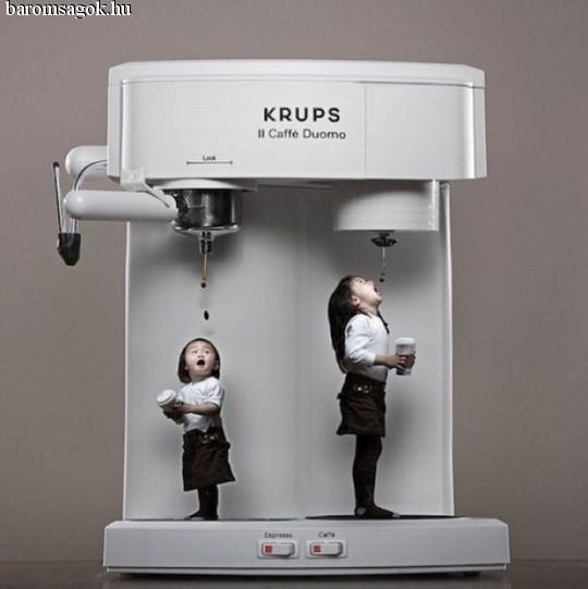 Önkiszolgáló kávégép