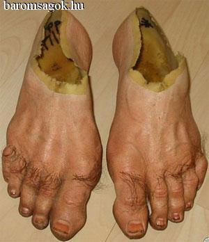 zombi láb