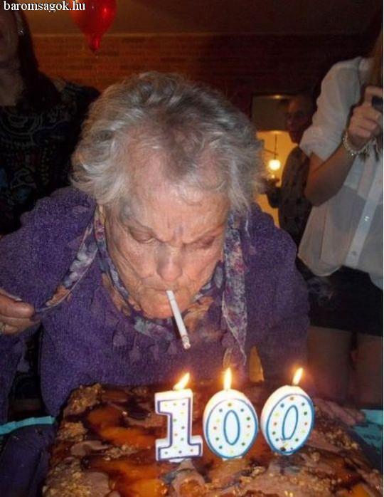 százéves nagyi