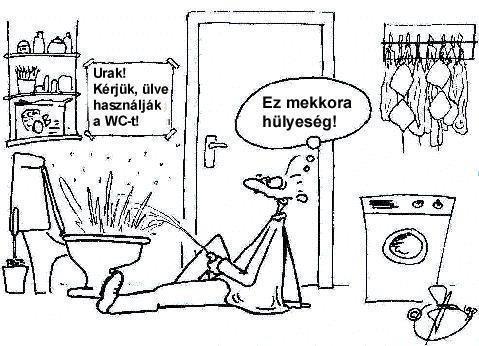 wc. használat