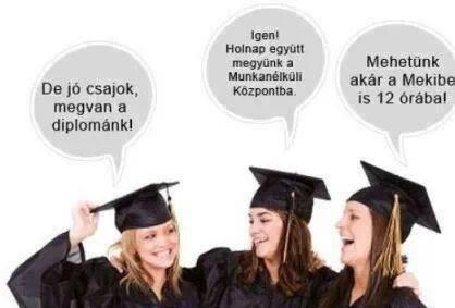 Diplomás munkanélküliség